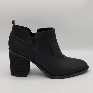 Dr. Scholl's Lanie Black Heeled Ankle Bootie 8